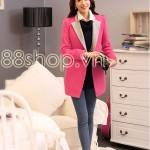 """Áo khoác dạ nữ style Hàn Quốc bạn gái """" nhìn là mê """""""