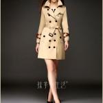 8 mẫu áo khoác kaki đẹp nhất cho bạn nữ mùa thu đông