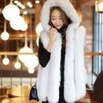 Áo khoác lông thú nữ hàng xịn cực đẹp của Hàn Quốc