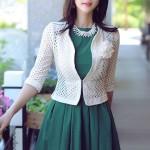 7 cách mix đầm với áo khoác vest cực sang cho mùa thu