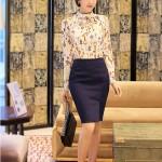 """8 kiểu áo sơ mi nữ công sở Hàn Quốc """" nhìn là mê """""""