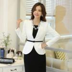Top những mẫu áo vest trắng phong cách công sở sang đẹp