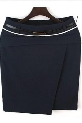 CV02 Chân váy công sở hàn quốc viền trắng
