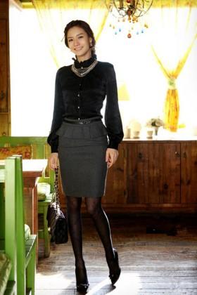 CV18 Chân váy công sở hàn quốc