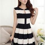 Đầm đẹp phong cách trẻ trung đơn giản diện mùa hè thu