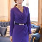 8 mẫu váy liền công sở thời trang đẹp dịu dàng