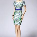 Chọn váy hoa hè thu sang trọng cho quý cô tuổi u30, u40,u50