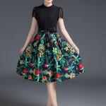 Những mẫu váy voan dài tuyệt đẹp dành tặng bạn nữ đầu thu